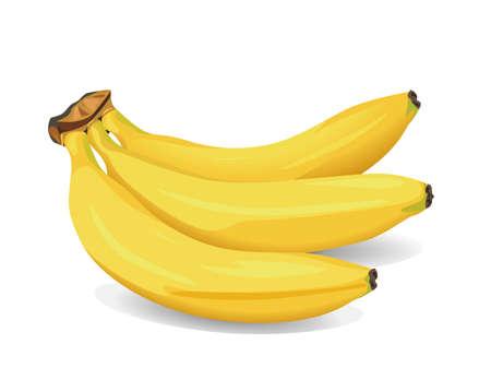 booster: R�gime de bananes, illustration vectorielle Illustration