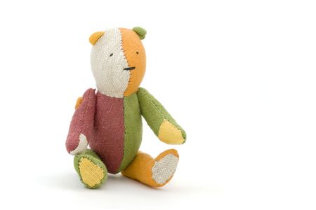 Knitted Bear Stock Photo