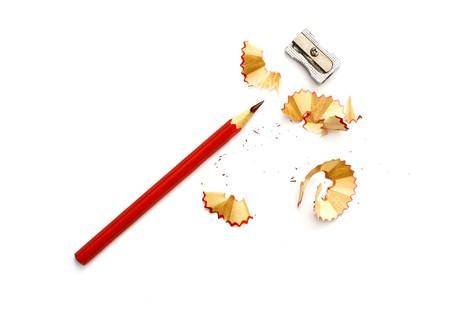 sacapuntas: virutas de lápiz afilado