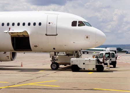 maintenance of aircraft at the airport in Varna, Bulgaria