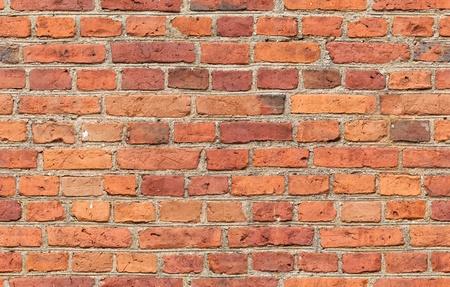 Red brick wall texture - seamless, high resolution brick wall texture