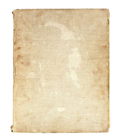 old book in a cloth cover Stock Photo