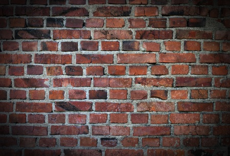 grunge brick wall background Stock Photo - 13547357