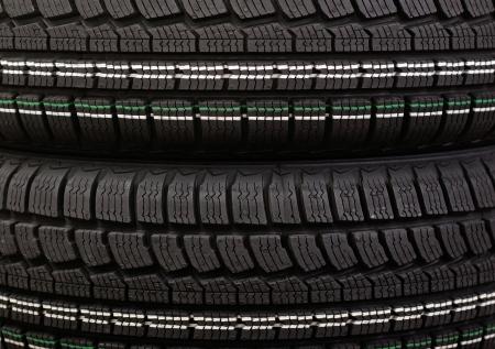 New winter tire tread Stock Photo - 16083045