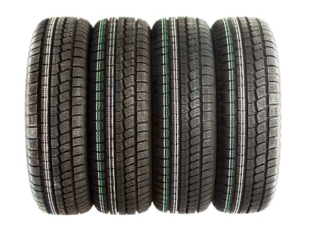 Four new winter tires for the car
