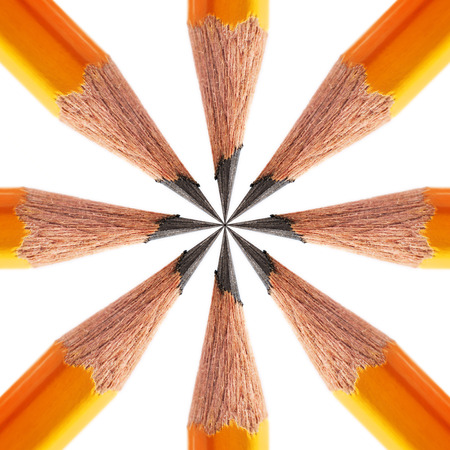 sharpened: pattern of a sharpened pencil