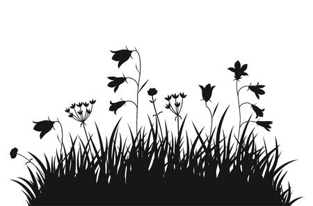Vector illustration grass background for design use Illustration