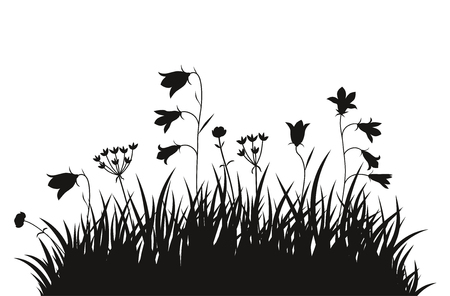 Vector illustration grass background for design use Illusztráció