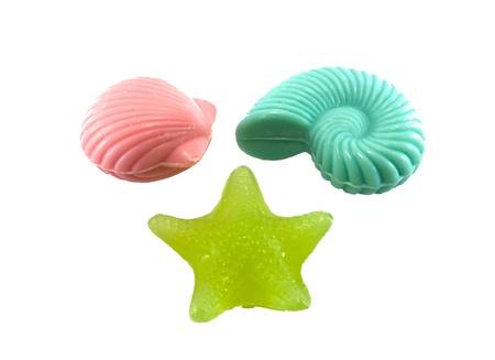 isolate shot of fancy soap