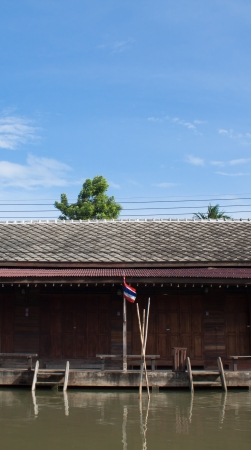 house at floating market