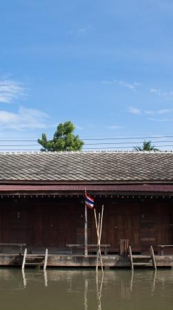 house at floating market