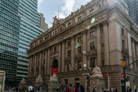 alexander hamilton: New York, Stati Uniti d'America - 21 settembre 2015: Museo Nazionale degli Indiani d'America di New York City. Editoriali
