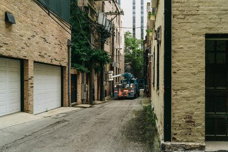 autotruck: Chicago, USA - September 25, 2015: Lorri on a lane.