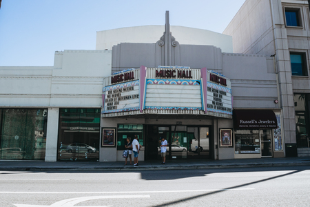 famous industries: Beverly Hills - Sept 27: The movie The second mother opens at the Music Hall Laemmle Theaters on September 27, 2015 in Beverly Hills, California