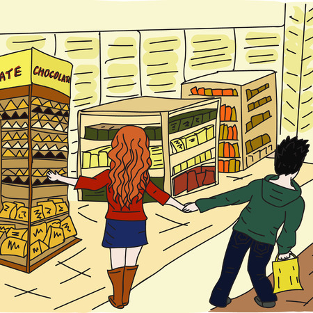 devoir: amour couple dans la franchise Illustration