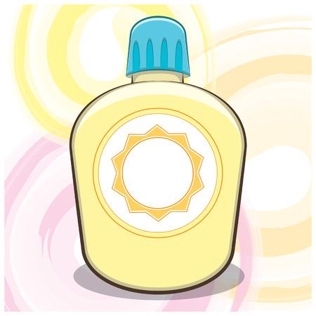 sun lotion: Summer Art Bloqueador solar