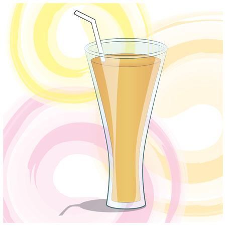sip: Summer Art Fruit Juice Illustration