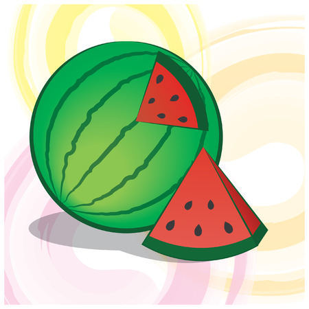 Summer Art Watermelon