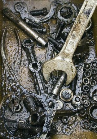 The tool, wrench, technics photo
