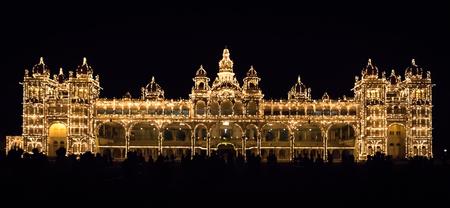 karnataka: mysore palace Stock Photo
