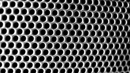 Circle texture Stock Photo