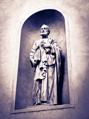 Saint Peter statue Stock Photo - 10692486