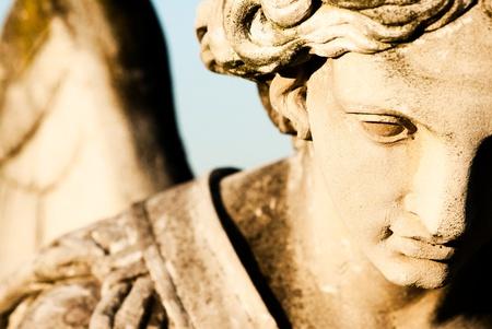 天使雕像 版權商用圖片 - 11877277