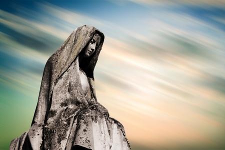 virgen maria: Virgen María Foto de archivo