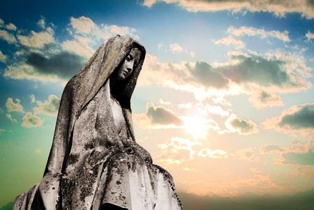 聖母瑪利亞 版權商用圖片 - 12602685