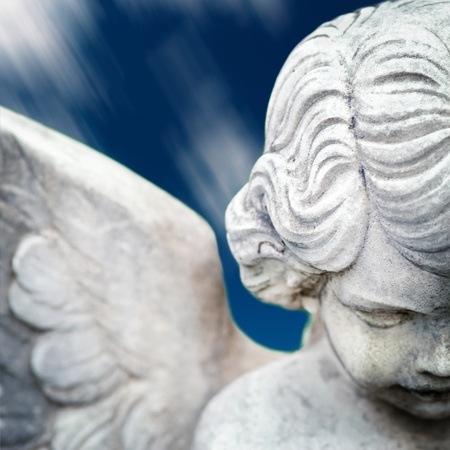 angel statue photo