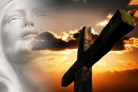 基督的激情 版權商用圖片 - 12689545