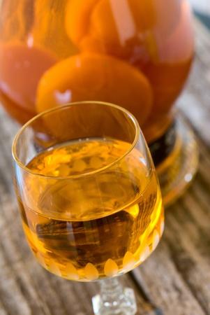 杏利口酒杯 版權商用圖片