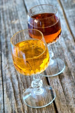 apricot liqueur and bitter photo