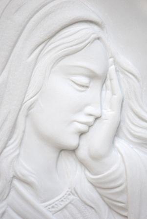 vierge marie: douleur Banque d'images