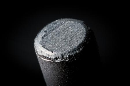 electrode: graphite Stock Photo