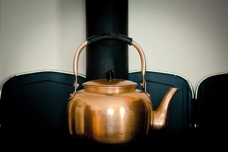 wood burner: vintage stove