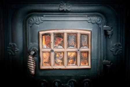vintage stove Stock Photo - 14442980