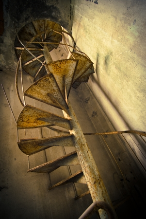 abandoned stairs Stock Photo - 14510813