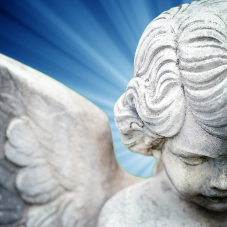christian angel: �ngel Foto de archivo