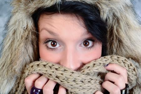pleasantness: surprised girl