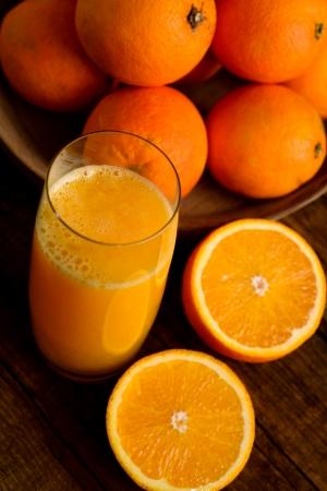 橙汁 版權商用圖片