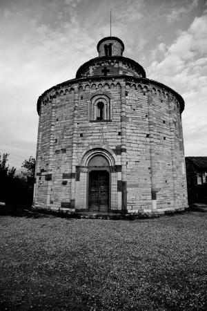 loci: San Tom&egrave, - Almenno San Bartolomeo - Lombardy - Italy Stock Photo