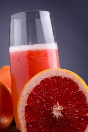 red grapefruit juice