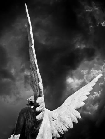 ange gardien: des ailes d'ange Banque d'images