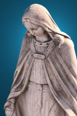 madona: Virgen Mar�a Foto de archivo
