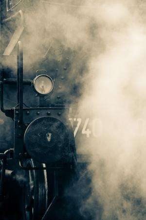 old train steam photo