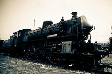 old train locomotive photo