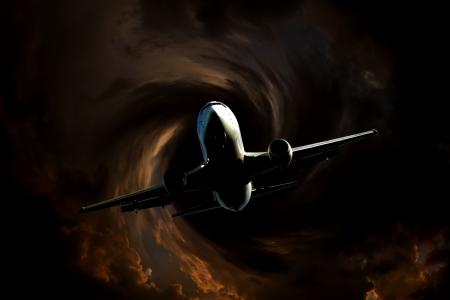 turbulence: airplane flight turbulence
