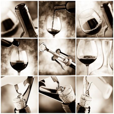 tasting wine: wine tasting Stock Photo