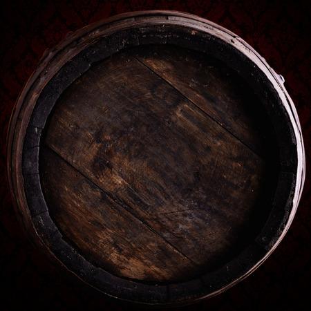 舊葡萄酒桶以上vintagebackground 版權商用圖片